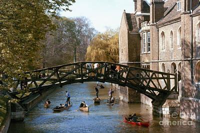 Painting - Cambridge University by Granger