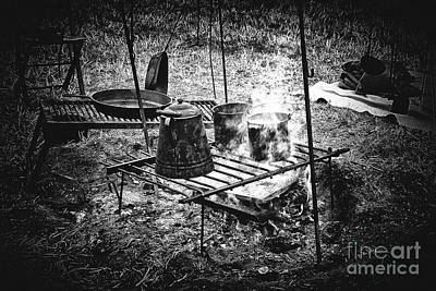 Photograph - Camp Fire - Stove by Paul W Faust - Impressions of Light