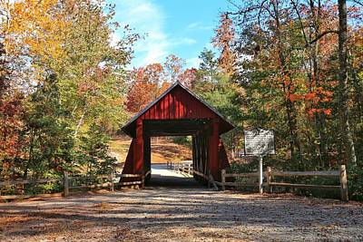 Photograph - Campbells Covered Bridge by Frank G Montoya