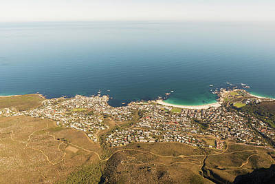 Photograph - Camps Bay, Cape Town, South Africa by Marek Poplawski