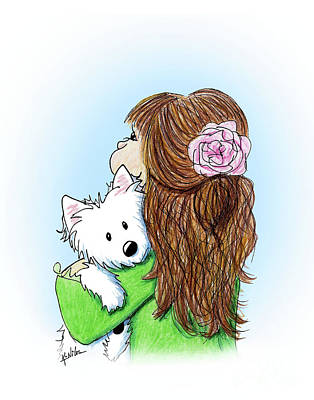 Drawing - Can I Keep Him? by Kim Niles