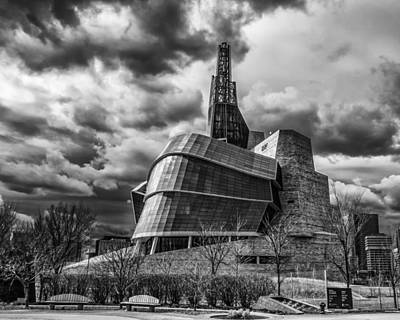 Photograph - Canadian Museum For Human Rights by Tom Gort