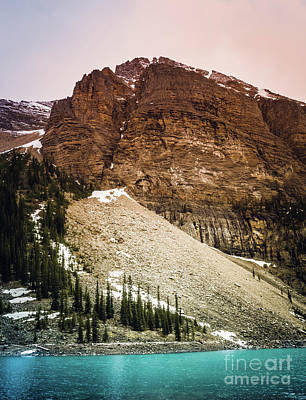 Photograph - Canadian Rockies Alberta Canada by Blake Webster