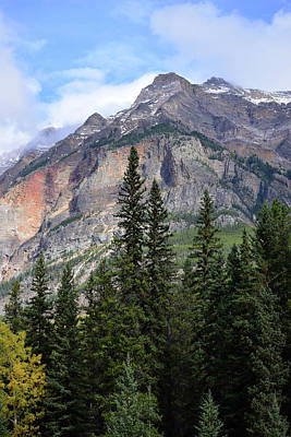 Photograph - Canadian Rockies No. 2-1 by Sandy Taylor