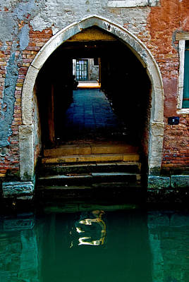 Canal Entrance Art Print