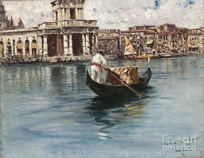 Grande Painting - Canal Grande by Celestial Images