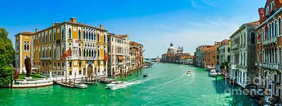 Soap Suds - Canal Grande with Basilica di Santa Maria della Salute, Venice by JR Photography