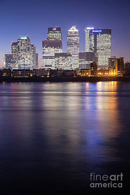 Photograph - Canary Wharf London  by Mariusz Czajkowski