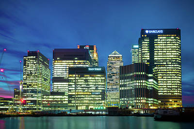 Photograph - Canary Wharf by Stewart Marsden
