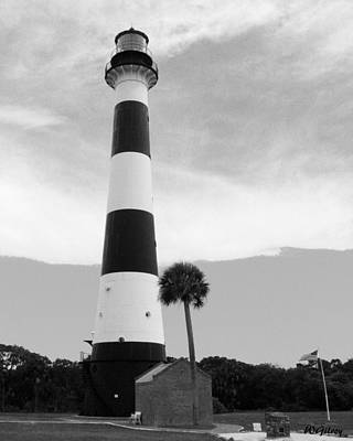 Sebastian Florida Photograph - Canaveral Lighthouse  by W Gilroy