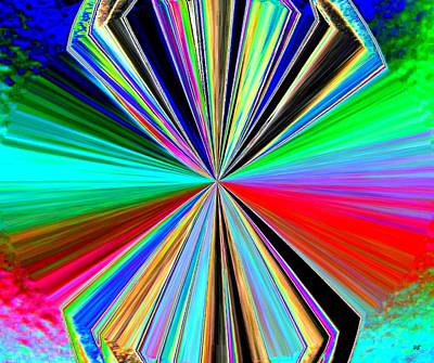 Candid Digital Art - Candid Color 8 by Will Borden