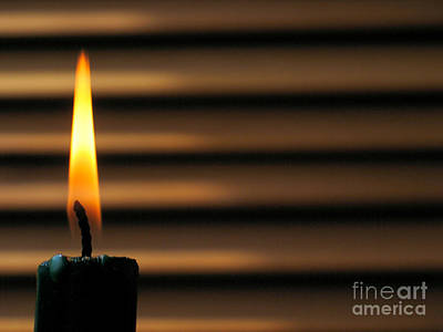 Candle Art Print by Odon Czintos