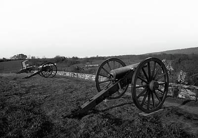 Photograph - Cannon At Antietam Battleground  by L O C