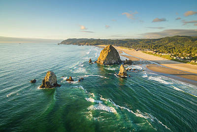 Photograph - Cannon Beach by Evgeny Vasenev