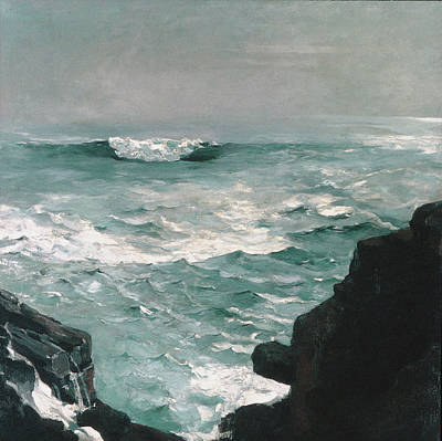Painting - Cannon Rock by Winslow Homer