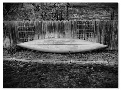 Photograph - Canoe by Michael L Kimble
