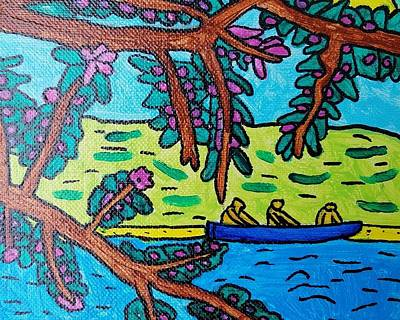 Painting - Canoe Ride by Brandon Drucker