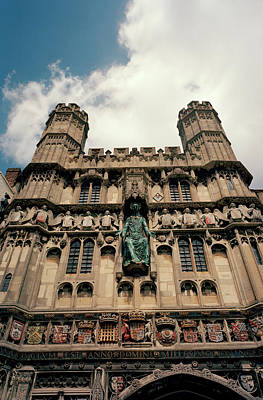 Photograph - Canterbury Cathedral by Shaun Higson