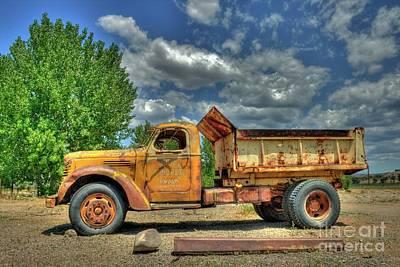 Photograph - Canyon Concrete 2 by Tony Baca