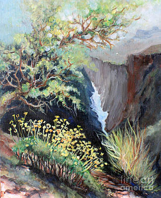 Painting - Canyon Land by Linda Shackelford