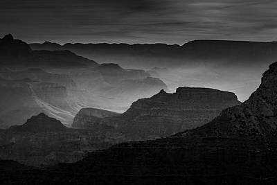 Photograph - Canyon Light by Andrew Soundarajan
