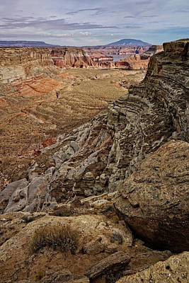 Photograph - Canyon Vista by Leda Robertson