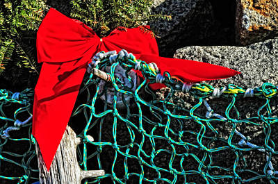 Photograph - Cape Ann Christmas by Mike Martin