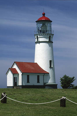 Photograph - Cape Blanco Lighthouse by Sandra Bronstein