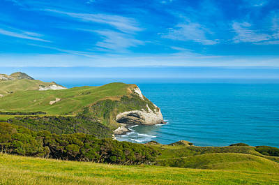 Cape Farewell Able Tasman National Park Art Print by Ulrich Schade