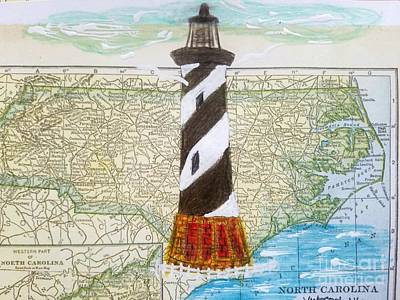 Cape Hatteras Lighthouse Original by Scott D Van Osdol