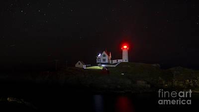 Photograph - Cape Neddick/nubble Light. York Beach, Maine. by New England Photography
