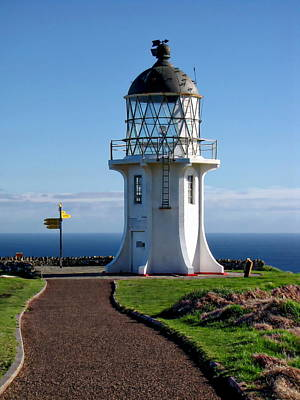 Photograph - Cape Reinga Lighthouse by Anthony Dezenzio