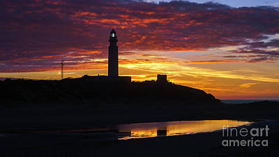 Photograph - Cape Trafalgar Lighthouse Cadiz Spain by Pablo Avanzini