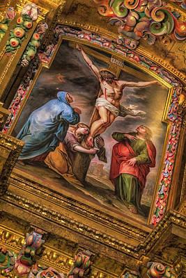 Photograph - Capilla Santo Cristo Yacente by David Cote