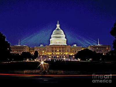 Capitol Brights Art Print