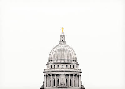 Capitol Cloud Art Print