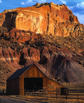 Photograph - Capitol Reef National Park, Ut by Utah Images