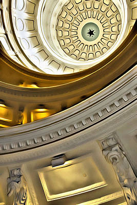 Photograph - Capitol Star by Alice Gipson