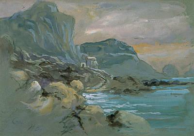 Painting - Capri by Treasury Classics Art