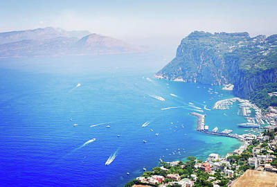 Photograph - Capri Island, Italy by Anastasy Yarmolovich
