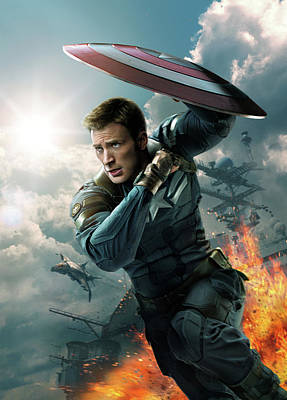 Captain America The First Avenger 2011 Art Print by Unknown