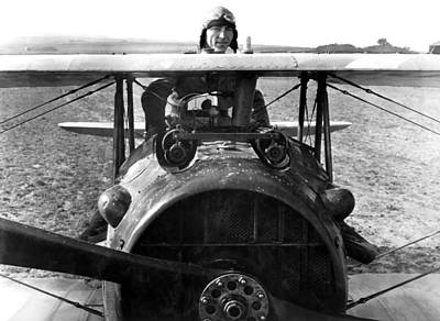 Aviation Photograph - Captain Eddie Rickenbacker  by War Is Hell Store