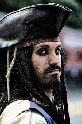 Pirate Ships Photograph - Captain Jack by David Patterson