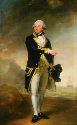 Painting - Captain John Gell by Gilbert Stuart