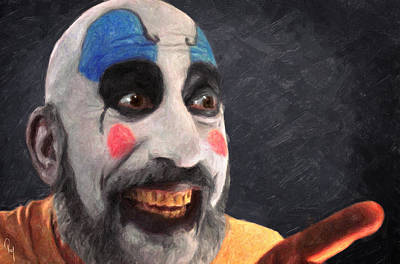 Painting - Captain Spaulding by Taylan Apukovska