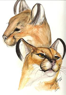 Painting - Caracal by Lorah Buchanan