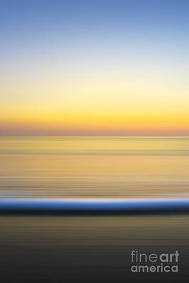 Ocean Energy Photograph - Caramel Dawn - Part 2 Of 3 by Sean Davey
