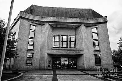 Cardiff Magistrates Court Wales United Kingdom Art Print by Joe Fox