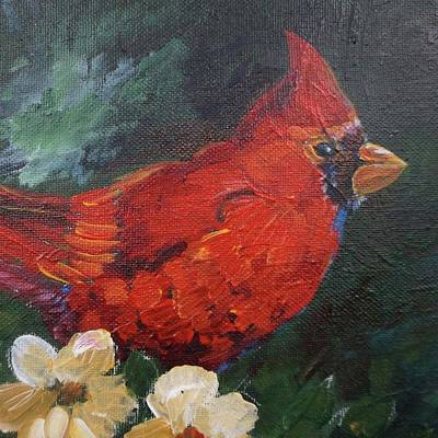 Painting - Cardinal by Gloria Turner