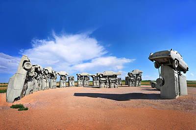Installation Art Photograph - Carhenge by Edwin Verin